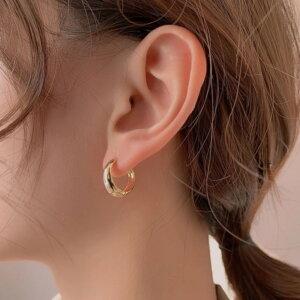 Sidabriniai minimalistiniai geometriniai auskarai-2