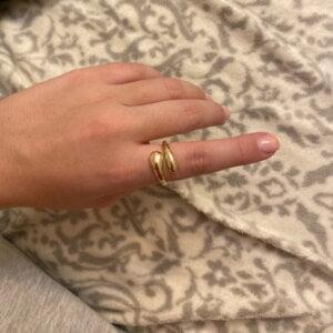 Sidabrinis korėjietiškas madingas žiedas-4