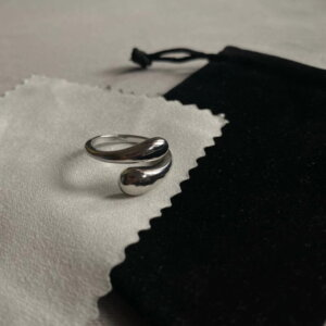 Sidabrinis korėjietiškas madingas žiedas-7