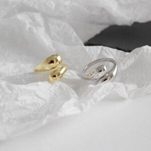 Sidabrinis korėjietiškas madingas žiedas-8