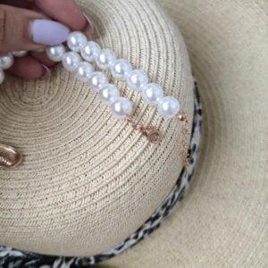 Daugiasluoksnis perlų pakabukas summer mix-8
