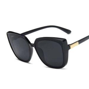 Retro mados katės akių formos akiniai nuo saulės-5