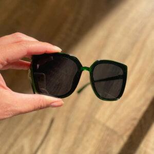 Retro mados katės akių formos akiniai nuo saulės-9