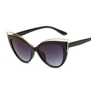 Vintažiniai katės akių formos akiniai nuo saulės-1