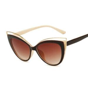 Vintažiniai katės akių formos akiniai nuo saulės-1.1