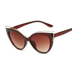 Vintažiniai katės akių formos akiniai nuo saulės-1.2