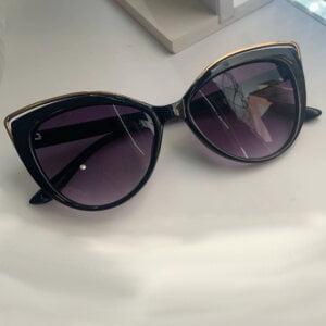 Vintažiniai katės akių formos akiniai nuo saulės-3-3