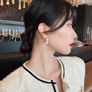 Elegantiški perlų auskarai-3