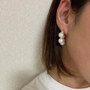 Elegantiški perlų auskarai-6