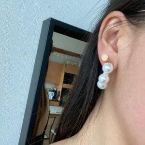 Elegantiški perlų auskarai-7