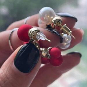 Elegantiški perlų auskarai-8
